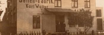 Gründung der Karl Walter GmbH