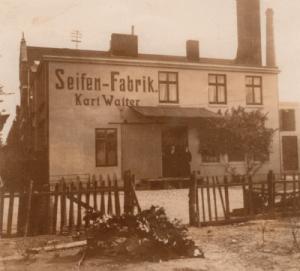 Seifen-Fabrik um 1910